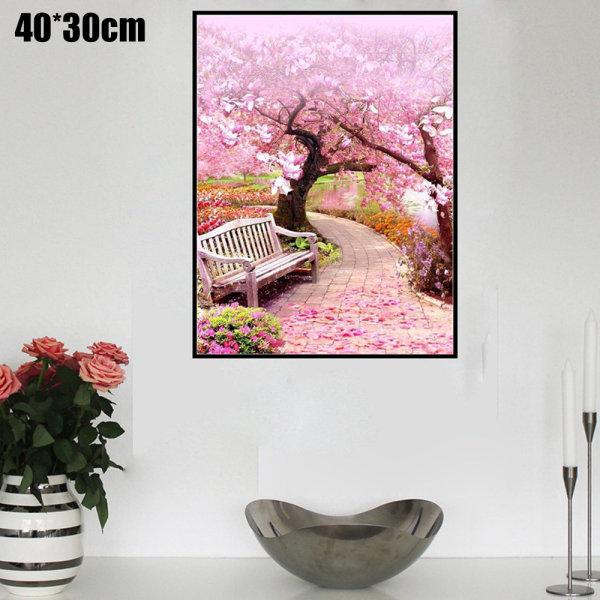 Full Drill 5D DIY Daimond Painting Flowers Stitch Hanging Decor