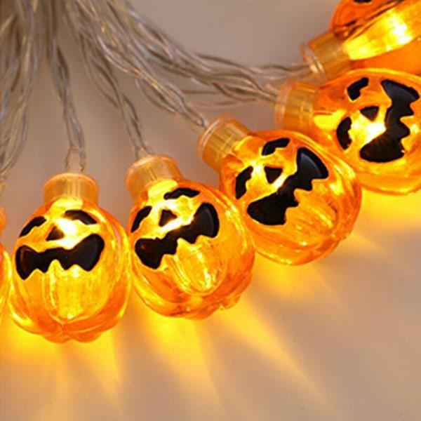 Halloween 80 LED 10 M Pumpa String Fairy Lights Lamp Party 10LED/1.2M