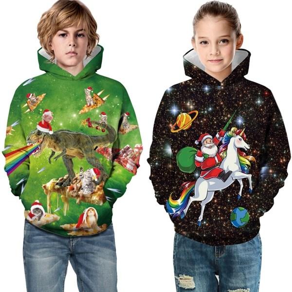 Kids Boy Girl Christmas Hoodie