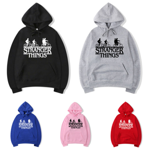 Plus Size Stranger saker Hoodie Sweatshirt Sport Gym Tops