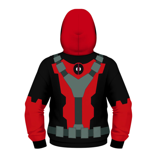 SpiderMan digital tryckt barntröja höstvinter red L