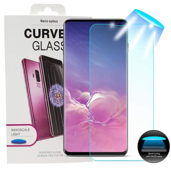 Premium Nano Liquid  glasskärmskydd för Galaxy S10 Plus Transparent