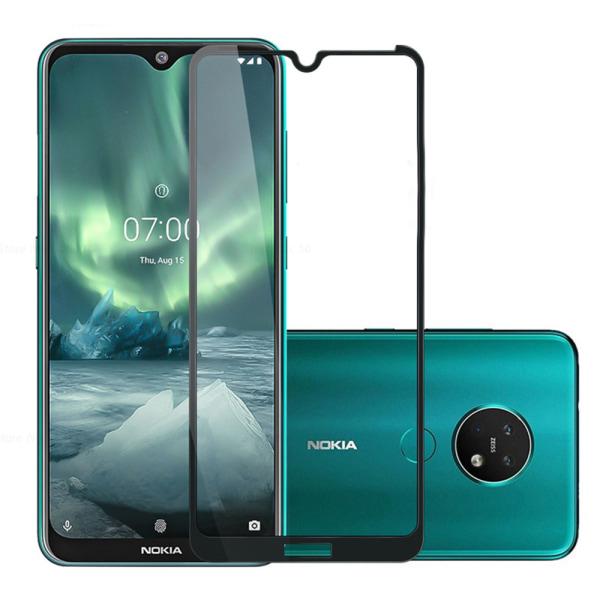 Nokia 6.2 10-PACK Skärmskydd 2.5D 9H 0,3mm HD-Clear Svart