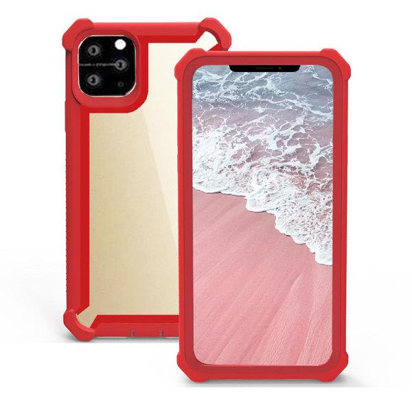 Skyddande Stilrent Skal - iPhone 11 Pro Max Röd