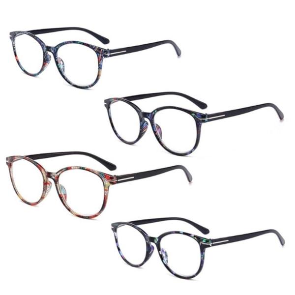 Praktiska Läsglasögon (+1 - +4) Rosa 3.5