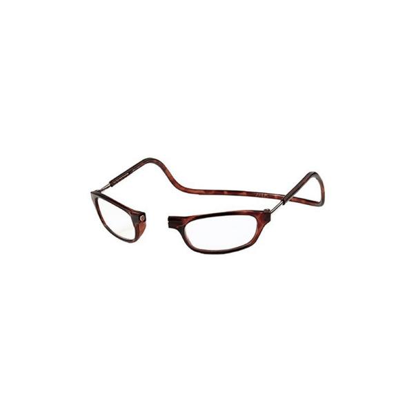 Läsglasögon med Magnetfunktion Vinröd 3.0