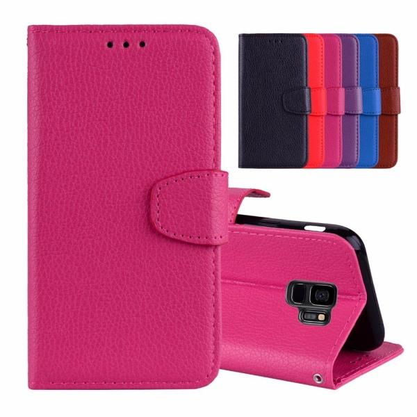 Samsung Galaxy S9Plus - Fodral med Plånbok (Slitstarkt) Brun