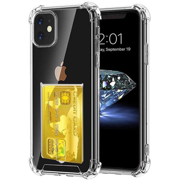 Effektfullt Stilrent Silikonskal - iPhone 11 Pro Max Transparent/Genomskinlig