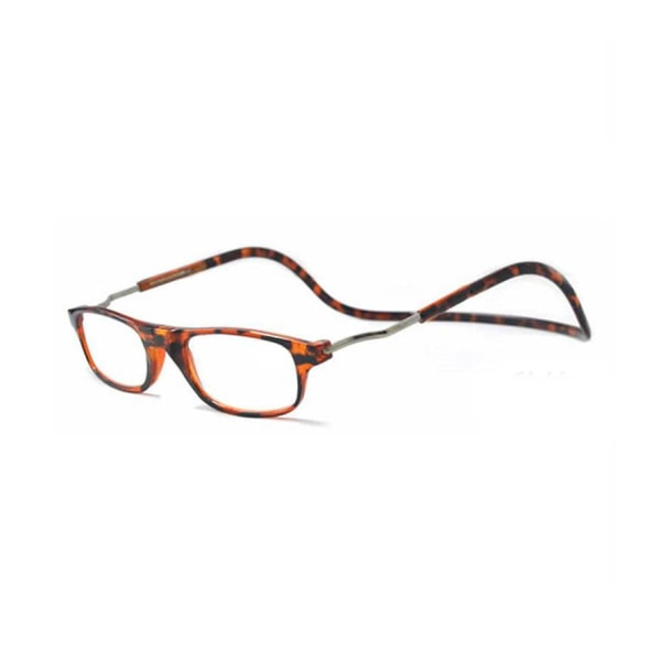 Läsglasögon med Magnetfunktion Leopardmönstrat 2.0