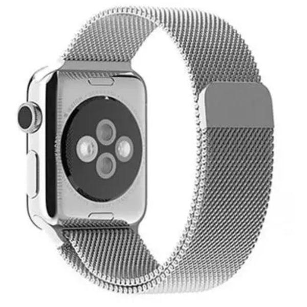 Länk till Apple Watch 38mm (Rostfritt Stål) Blå