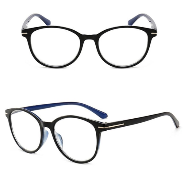 Vintage Stilrena Läsglasögon Blå 4.0