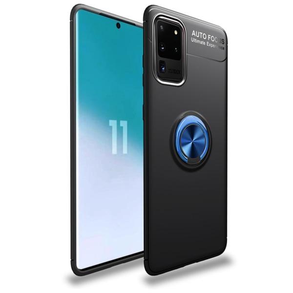 Skal med Ringhållare - Samsung Galaxy S20 Ultra Blå