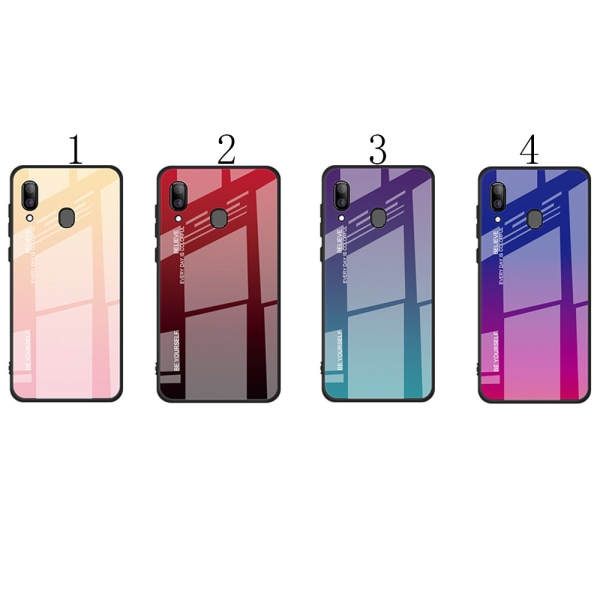 Samsung Galaxy A40 - Skyddande Effektfullt Skal NKOBEE 1