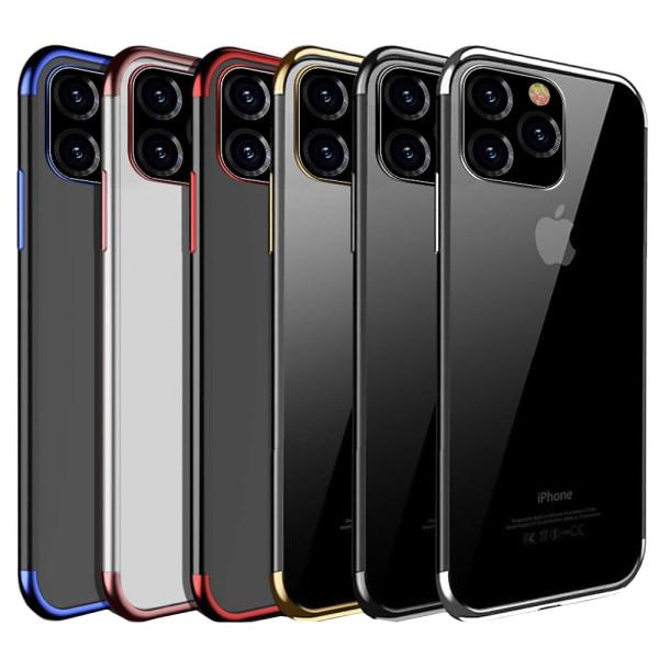 iPhone 11 Pro Max - Effektfullt Skal i Silikon Roséguld