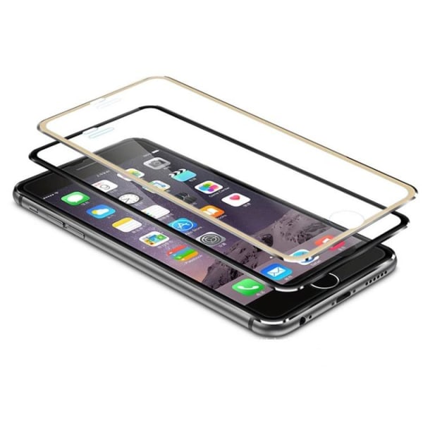 Original-Skydd från Pilking (3-PACK) med Aluminiumram iPhone 7 Svart