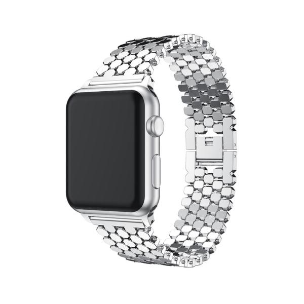 Elegant Länk (Rostfritt Stål) Apple Watch 42mm (3/2/1) Svart