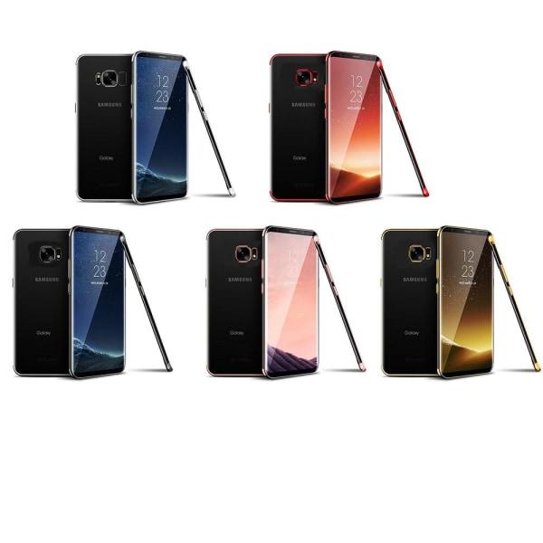 Samsung Galaxy S7 Edge - Stilrent Floveme Silikonskal Blå