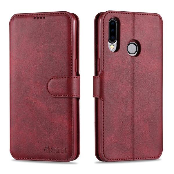 Samsung Galaxy A20S - Stilsäkert Yazunshi Plånboksfodral Svart