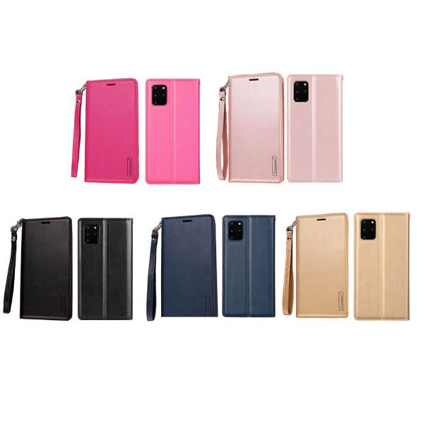 Praktiskt Plånboksfodral - Samsung Galaxy S20 Plus Mörkblå