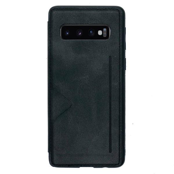 Elegant Smart Skal Kortfack (Hanman) - Samsung Galaxy S10 Plus Roséguld