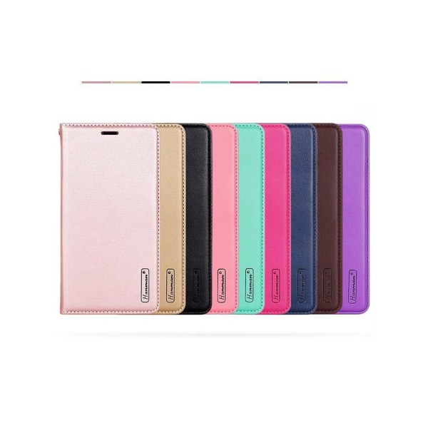 Smart och Stilsäkert Fodral med Plånbok - Samsung Galaxy A6 Plus Roséguld
