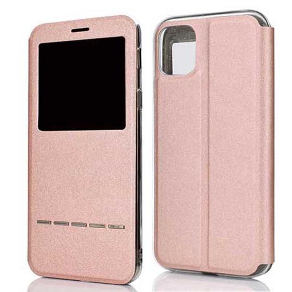 Fodral med Svarsfunktion Fönster - iPhone 11 Svart