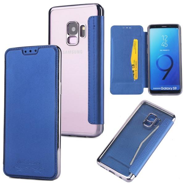 Fodral från JENSEN till Samsung Galaxy S9 Blå Blå