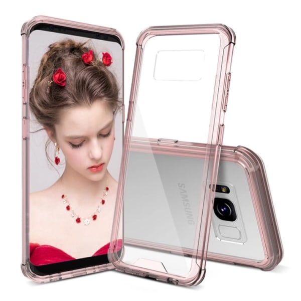 Samsung Galaxy S8+ NAKOBEE Stilrent Skal (ORIGINAL) Rosa