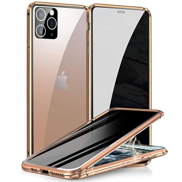 iPhone 12 Pro Max - Praktiskt Skyddande Magnetiskt Dubbelskal Guld