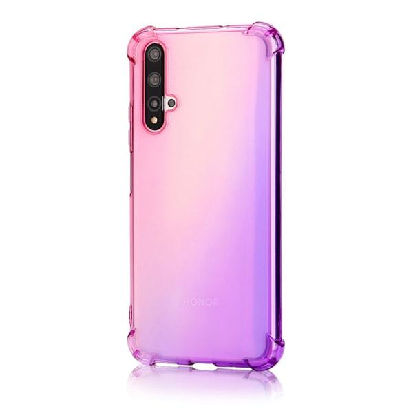 Genomtänkt Skal Tjocka Hörn - Huawei Nova 5T Rosa/Lila