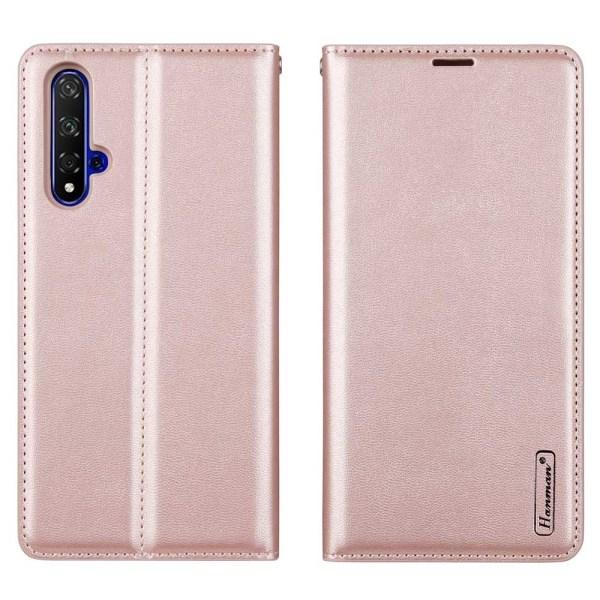 Huawei Nova 5T - Professionellt Plånboksfodral (Hanman) Svart