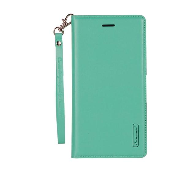 Plånboksfodral i Slitstarkt PU-Läder (T-Casual) - iPhone 8 Plus Ljusrosa
