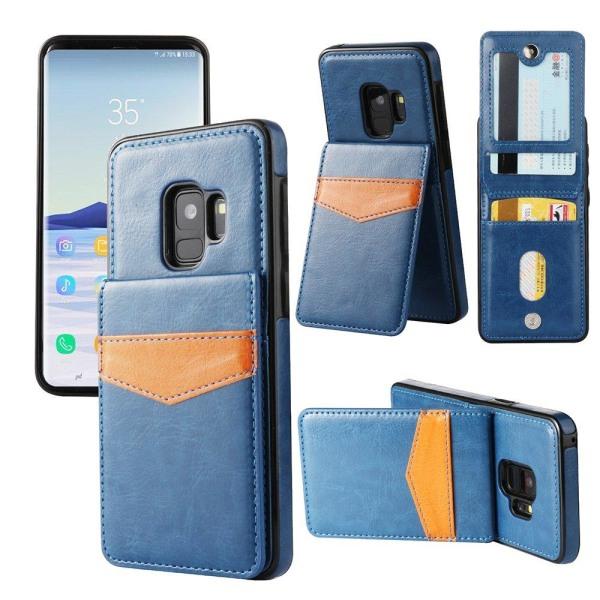 Praktiskt Skal med Kortfack Samsung Galaxy S9 (NKOBEE) Brun