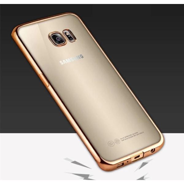 Samsung Galaxy S8 - Stilrent Silikonskal från LEMAN Silver/Grå