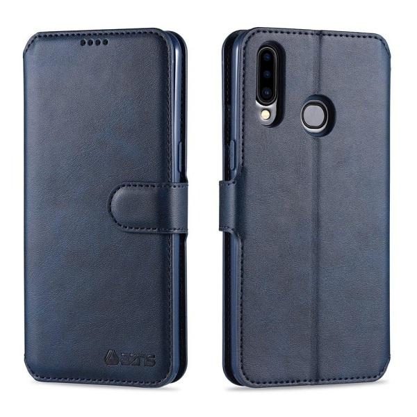 Samsung Galaxy A20S - Stilsäkert Yazunshi Plånboksfodral Blå