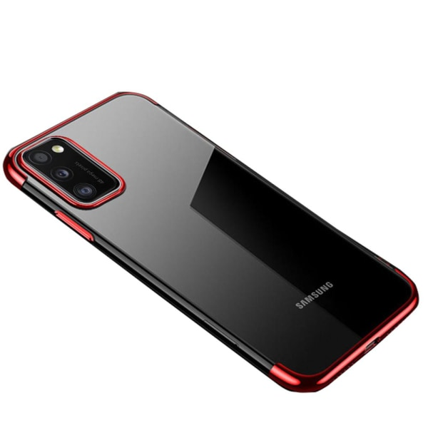 Samsung Galaxy A41 - Silikonskal Silver