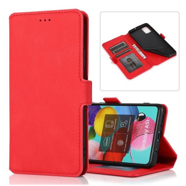 Samsung Galaxy A72 - Stilrent FLOVEME Plånboksfodral Röd