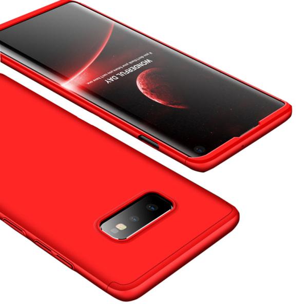 Samsung Galaxy S10e - Praktiskt Smart Fodral (FLOVEME) Röd Röd