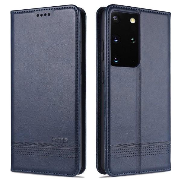 Samsung Galaxy S21 Ultra - Praktiskt Stilrent YAZUNSHI Plånboksf Röd
