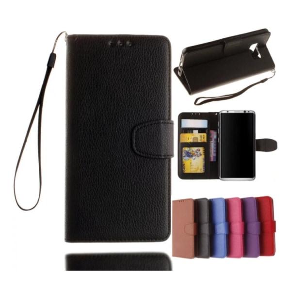 Samsung Galaxy S8 - Stilrent Plånboksfodral från NKOBEE Brun