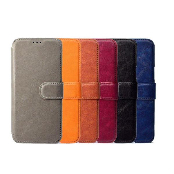 Samsung Galaxy S9Plus - Elegant Fodral med Plånbok Blå
