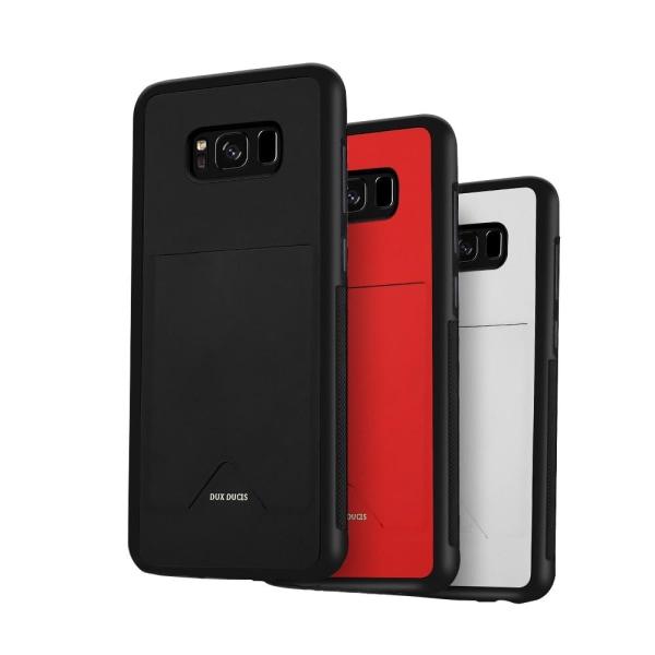 Skal med Kortfack (Samsung Galaxy S8+) DUX DUCIS Röd