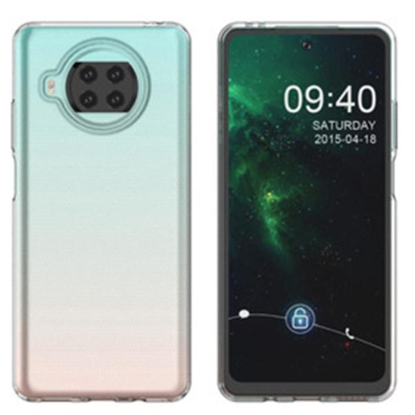 Xiaomi Mi 10T Lite - Skyddande Stilsäkert Silikonskal FLOVEME Genomskinlig