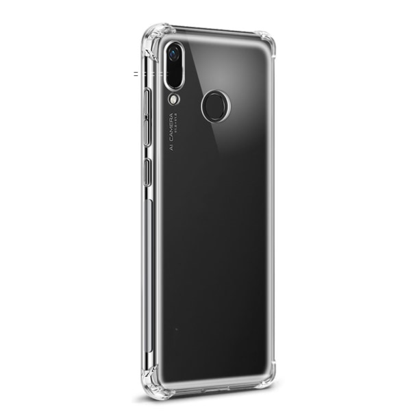 Huawei Y6 2019 - Skal Transparent/Genomskinlig