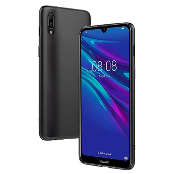 Huawei Y6 2019 - Stöttåligt Silikonskal (Nillkin) Svart