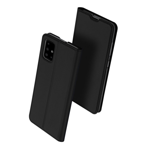 Samsung Galaxy A51 DUX DUCIS Skin Pro Series Stand Flip Case - B Black