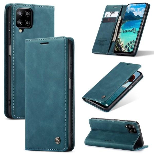 CASEME Plånboksfodral Samsung Galaxy A12 - Blå Blå