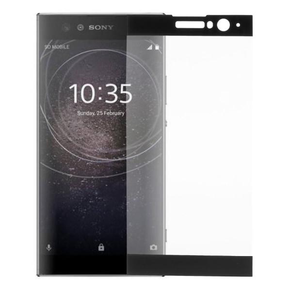 Sony Xperia XA2 Heltäckande Härdat glas 0,3mm - Svart Transparent