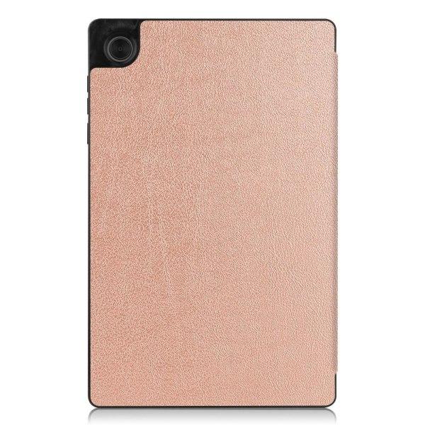 Tri-fold Fodral till Lenovo Tab M10 HD Gen 2 - Rose Gold Rosa guld