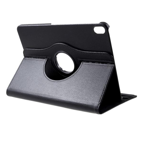 Litchi Cover 360 asteen jalusta iPad Pro 11 tuumaa (2018) - musta Black